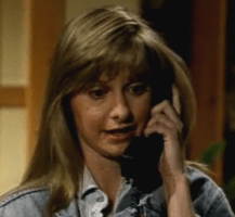 Calista Flockhart first movie: Guiding Light