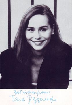 Tara Fitzgerald photos plus jeunes un à google.com