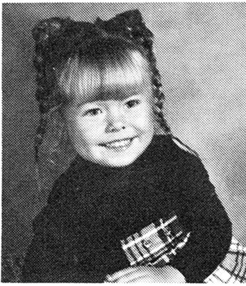 Kelly Ripa childhood photo one at pinterest.com