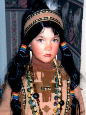 Jacquelyn Jablonski childhood photo one at Fashin.livejournal.com