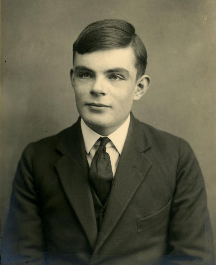 Alan Turing British Code Breaker During World War II