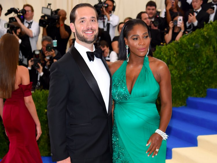 Reddit Co-founder Alexis Ohanian and his wife Serena