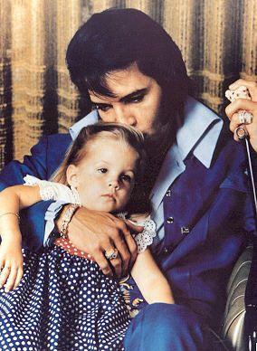 Lisa Marie Presley kindertijd foto een via Pinterest.com