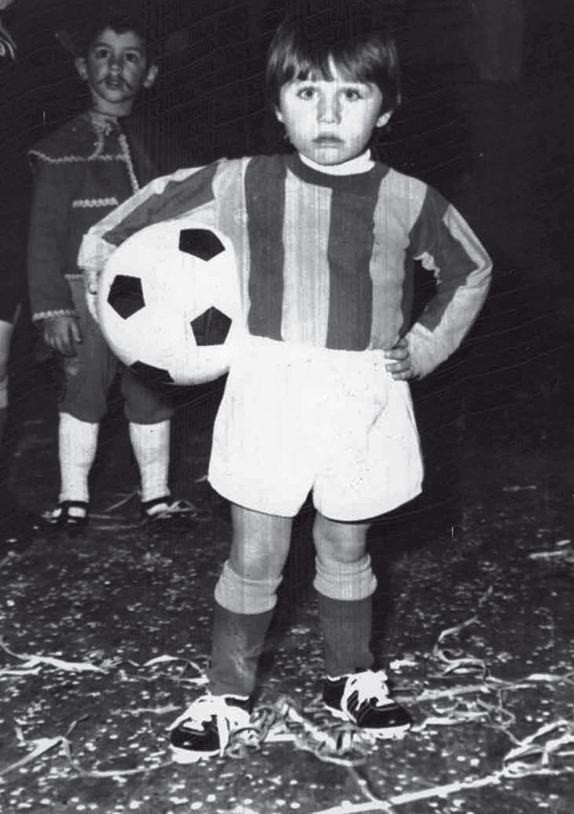 Antonio Conte childhood photo one at Antonioconteofficial.it