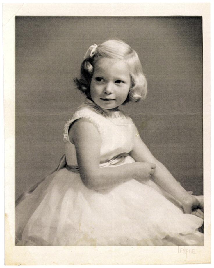 Tilda Swinton childhood photo one at