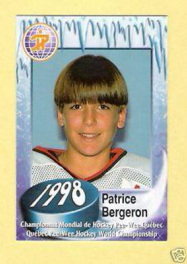Patrice Bergeron childhood photo one at Patricebergeron37.weebly.com