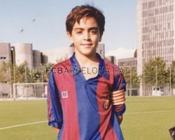 Xavi Hernández childhood photo two at Looking-like-a-cyber-elf.blogspot.com