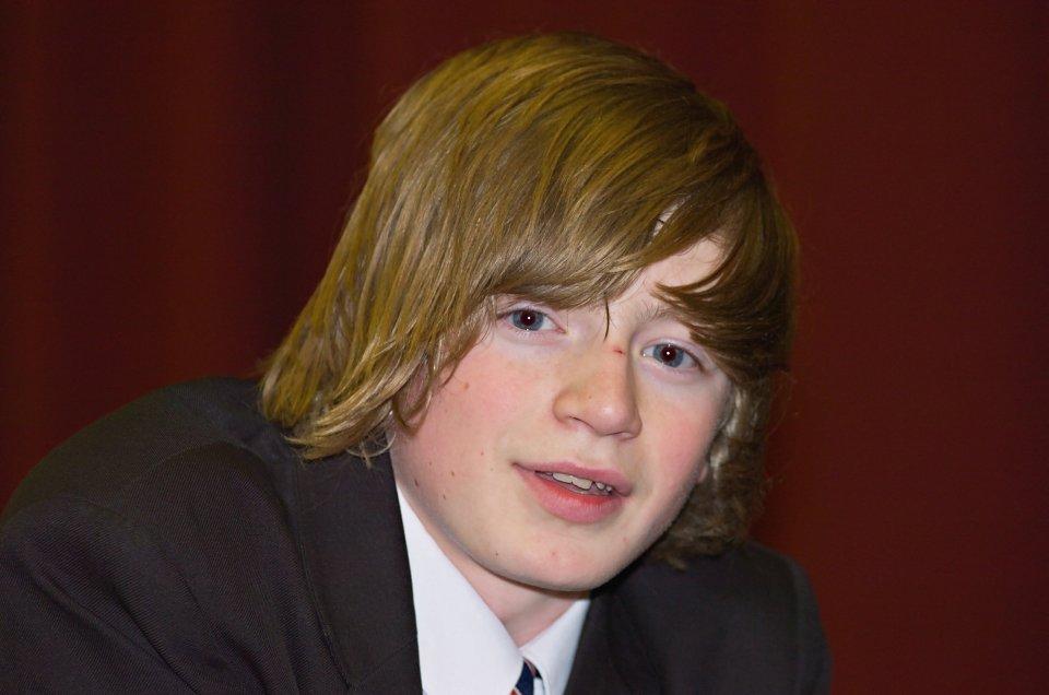 Adam Peaty, foto de infância dois em youthensnews.com