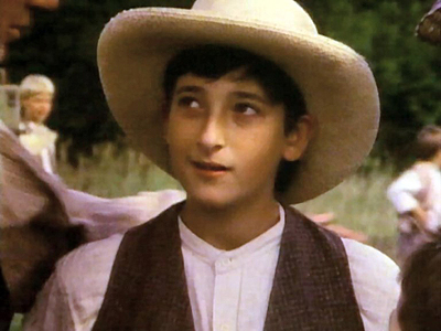 Adrien Brody childhood photo two at pinterest.com