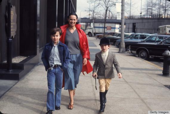 Anderson Cooper kindertijd foto twee via huffingtonpost.com