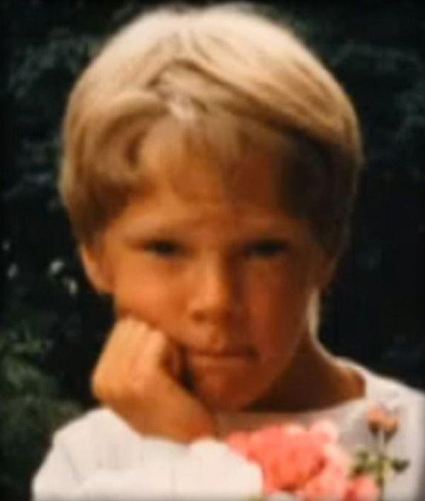 Benedict Cumberbatch, foto de infancia uno en pinterest.com