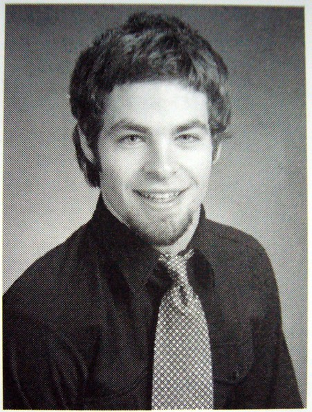 Chris Pine yearbook photo one at classmates.com at classmates.com