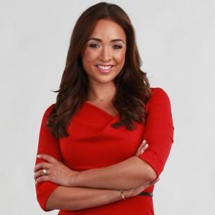 Cassidy Hubbarth - a apresentador, leitor de notícias, a celebridade gostosa, linda, atraente, de origem alemã, irlandesa, filipina, em 2020