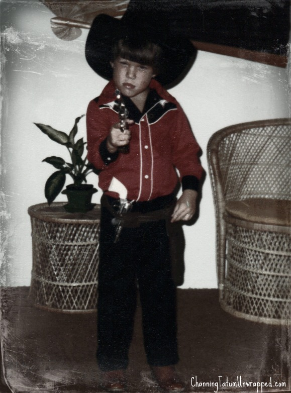 Channing Tatum kindertijd foto een via pinterest.com