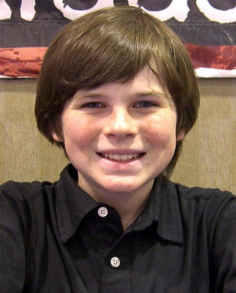 Chandler Riggs childhood photo one at how-rich.com
