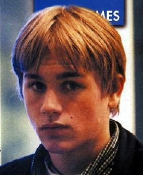 Charlie Hunnam childhood photo one at pinterest.com