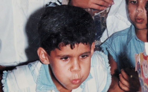 Diego Costa younger photo one at telegraph.co.uk/