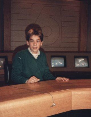 David Muir, foto de infância um em abcnews.com