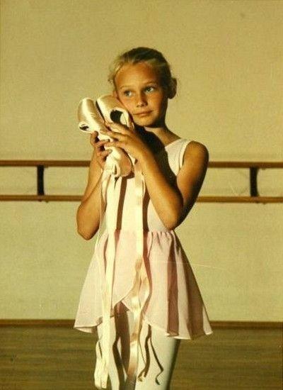 Diane Kruger childhood photo two at pinterest.com