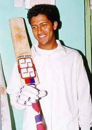 Wasim Jaffer younger photo one at Rediff.com