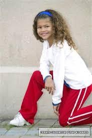 Zendaya childhood photo three at Pinterest.com