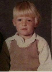 Norman Reedus childhood photo one at Pinterest.com