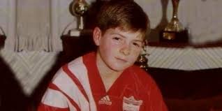 Steven Gerrard childhood photo one at Successstory.com