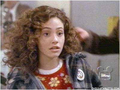 Emmy Rossum childhood photo one at wisetrail.com