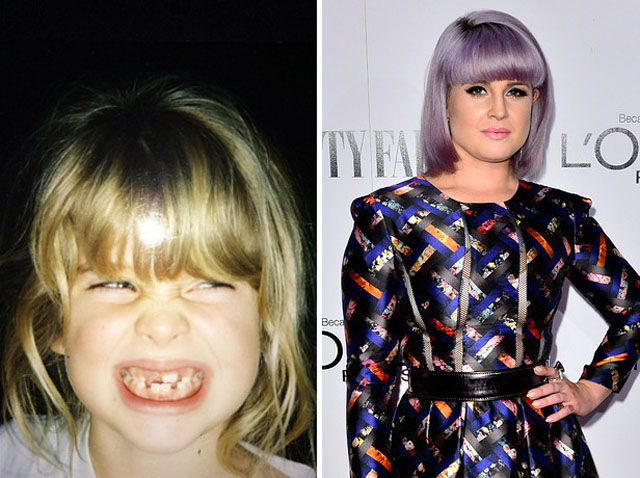 Kelly Osbourne childhood photo two at Funcage.com