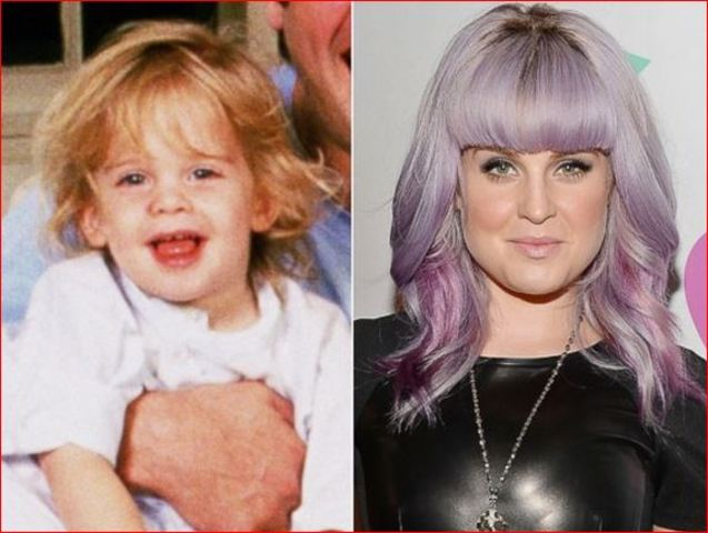 Kelly Osbourne childhood photo three at Almasryalyoum.com