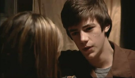 Grant Gustin first movie:  A Haunting