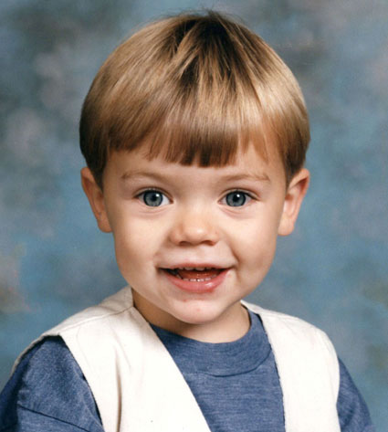 Harry Styles childhood photo one at tumblr.com
