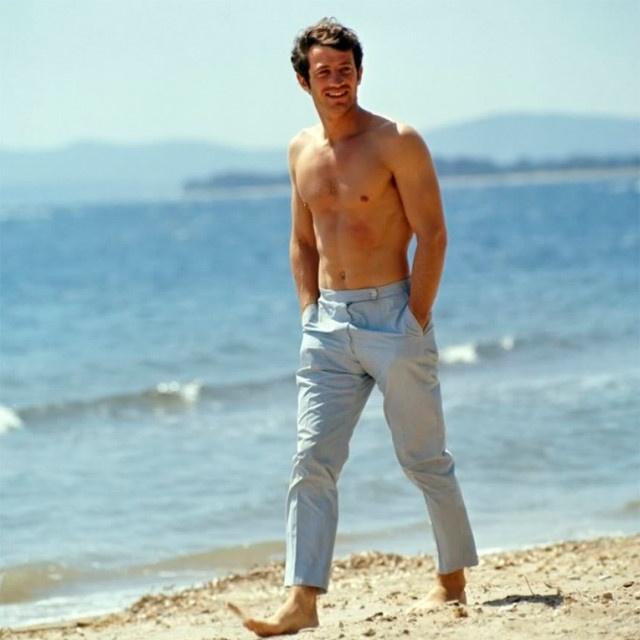 צרפת מצדיעה לשחקן הכי גדול של צרפת בכל הזמנים Jean-Paul Belmondo שהלך לעולמו  Jean-Paul-Belmondo-young3