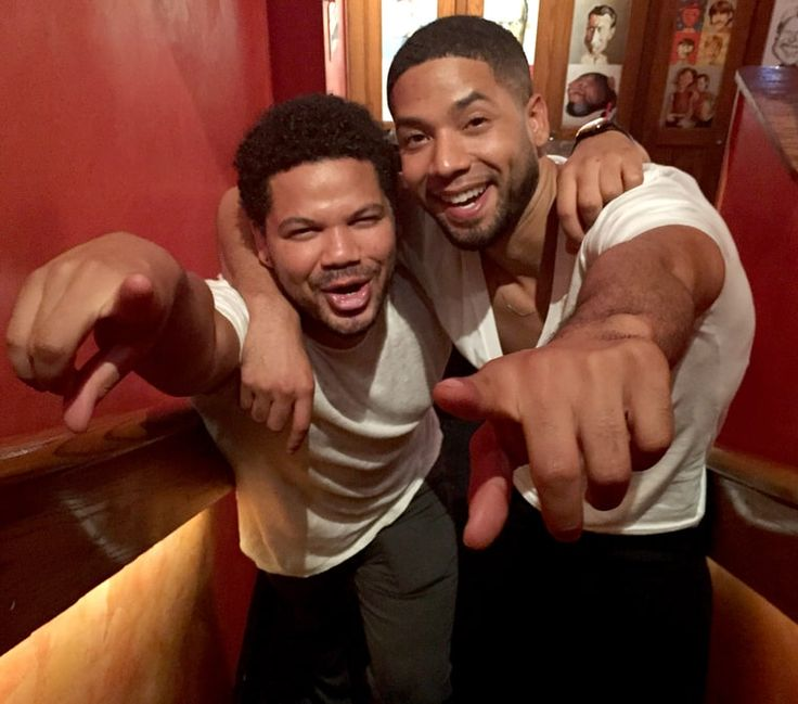 Jussie Smollett younger photo two at pinterest.com