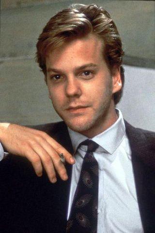 Kiefer Sutherland photos plus jeunes un à pinterest.com