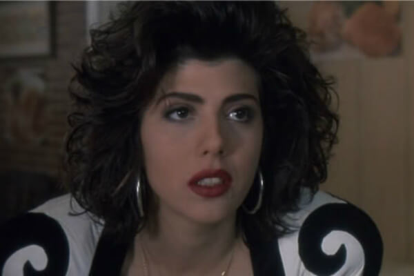 Marisa Tomei first movie:  The Toxic Avenger