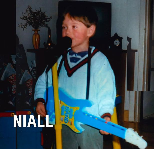 Niall Horan childhood photo one at mirror.co.uk