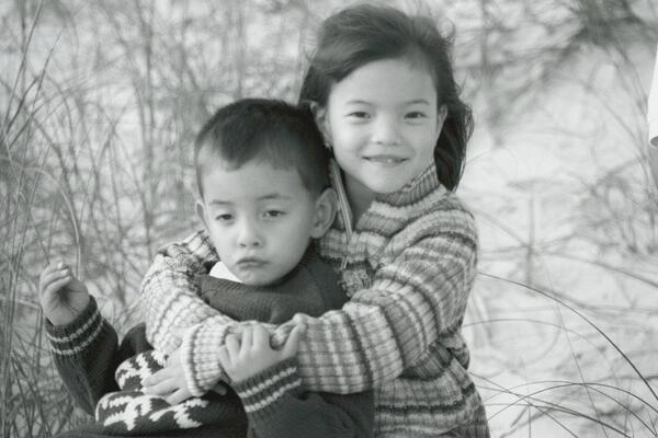 Piper Curda, foto de infância um em twitter.com