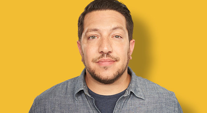 Sal Vulcano - the fun, charming, funny,  comedian  with American roots in 2017