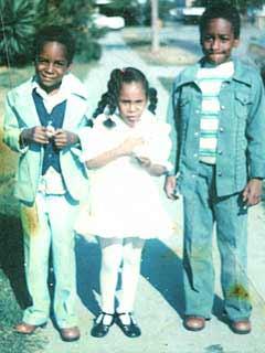 Snoop Dogg childhood photo two at celebritiestan.com