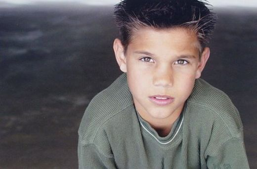 Taylor Lautner childhood photo one at pinterest.com