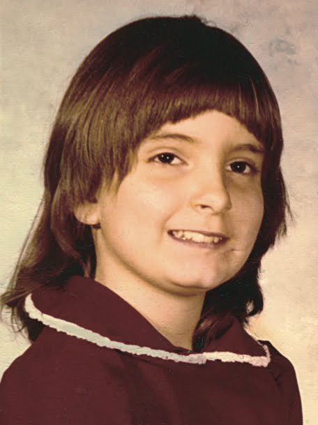 Tina Fey, foto de infancia uno en pinterest.com