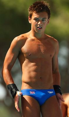 Tom Daley jongere foto twee via pinterest.com