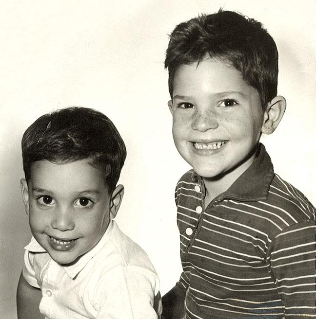 Bob Weinstein Kindheitsoto eins bei hollywoodreporter.com
