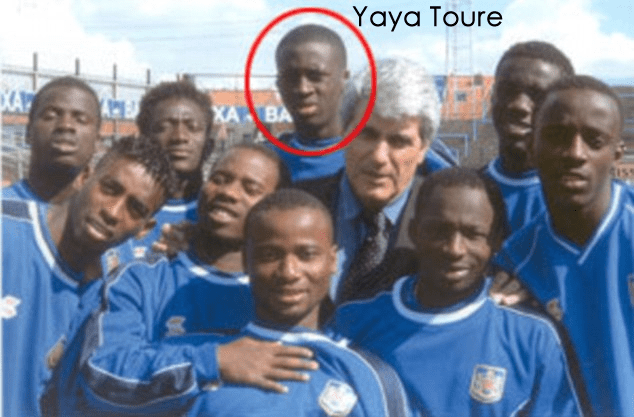 Yaya Touré Foto di infanziauno al lifebogger.com