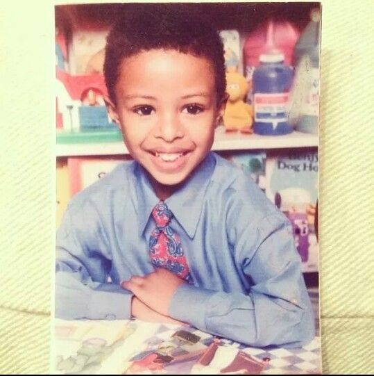 Diggy Simmons childhood photo two at pinterest.com