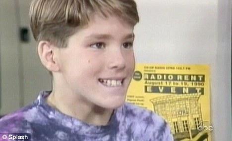 Ryan Reynolds kindertijd foto twee via dailymail.co.uk