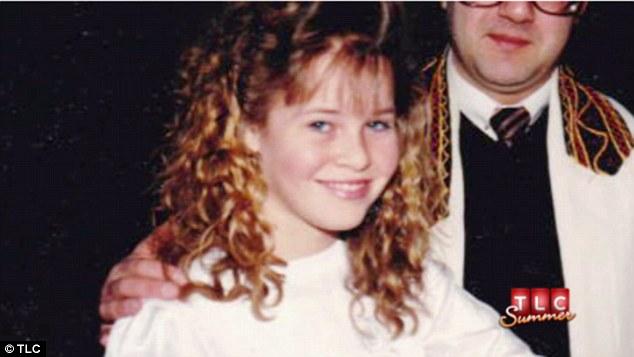 Chelsea Handler kindertijd foto een via dailymail.co.uk