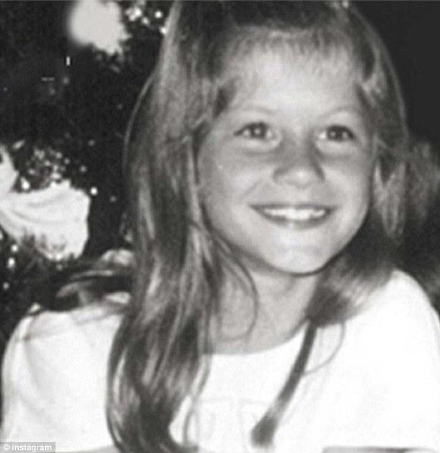 Gisele Bündchen kindertijd foto twee via Dailymail.co.uk