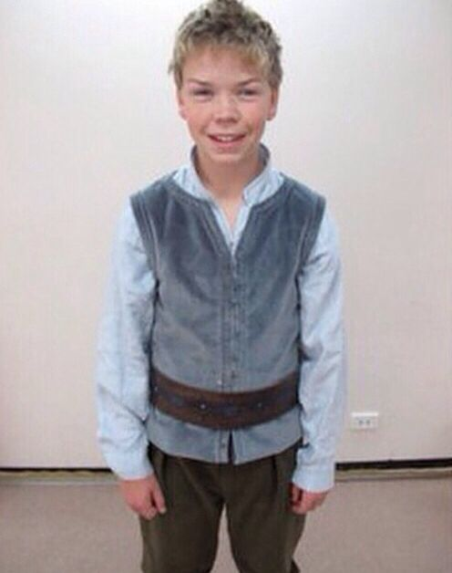 Will Poulter childhood photo one at pinterest.com